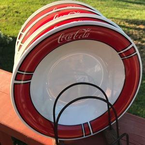Coca-Cola bowls / Gibson